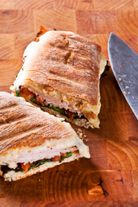 Smoked Turkey Panini