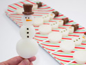 Snowman Jell-O shots: The winter piña colada treat you never knew you needed