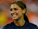Soccer star Alex Morgan dishes on flat abs and a flawless face