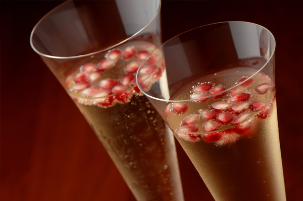 Sparkling Pom Cocktail