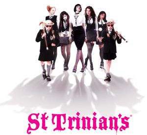 The girls of St Trinian's