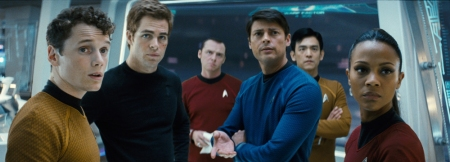 The cast of JJ Abrams' Star Trek readies for box office battle