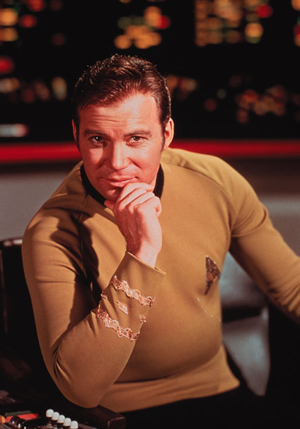 Iconic character James T. Kirk