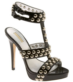 Studded gladiator sandals, spring shoe trends, fashion tips,