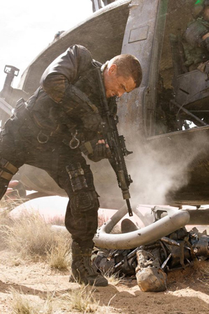 Christian Bale is John Connor in Terminator Salvation