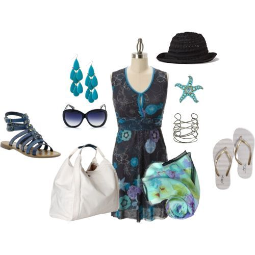 Summer beach party attire, beach clothes, summer fashion, 