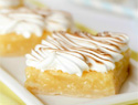 Sunshiny lemon meringue pie-inspired treats that scream summer