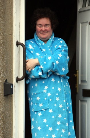 Susan Boyle takes a rest after Britain's Got Talent