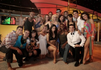 The top 18 on So You Think You Can Dance
