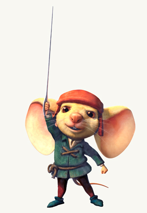 Matthew Broderick is Despereaux