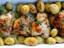 Lemon herb chicken and potatoes