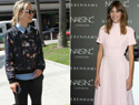 Taylor Schilling and Alexa Chung in hip boy-meets-girl menswear