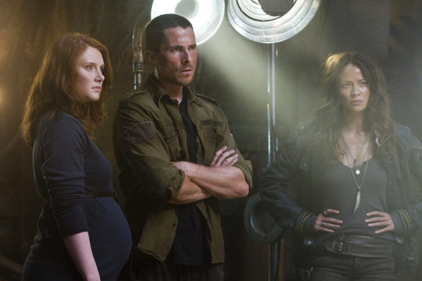 Bryce is carrying Christian Bale's John Connor's baby in Terminator: Salvation