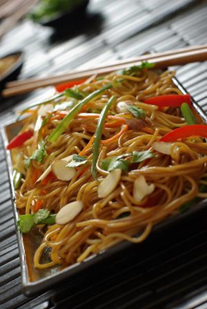 Tasmanian Devil Thai Noodles