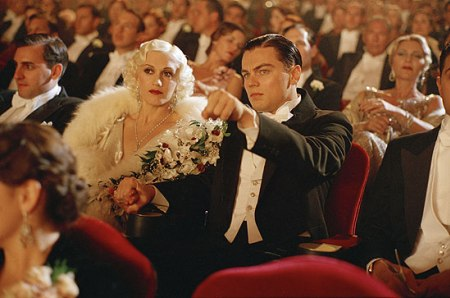 Gwen Stefani and Leonardo DiCaprio wear Powell costumes in The Aviator