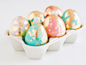 A Step-by-Step Guide to Instagram-Worthy Gold Leaf Easter Eggs