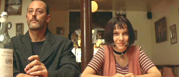 Jean Reno and a young Natalie Portman in The Professional