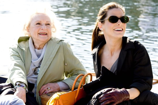 Betty White and Sandra Bullock go for a ride in The Proposal
