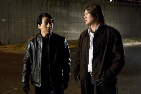 Jackie Chan and Billy Ray Cyrus in The Spy Next Door