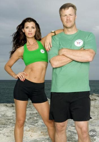 Ali Landry and her partner, Jeff Kent