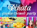 Throw a piñata cookie-themed party