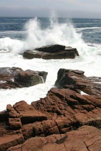 Thunder Hole, Bar Harbor, Maine
