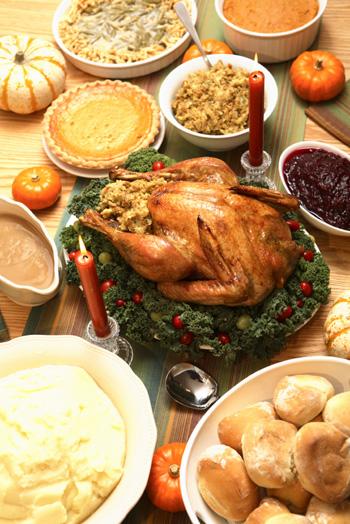 Thanksgiving comfort foods