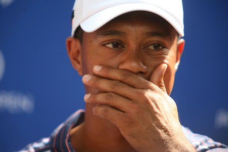 Tiger Woods is not talking about his weekend crash...it's his business!