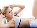 Tighten your tummy with these three exercises
