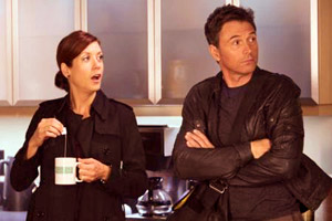 Tim Daly and Kate Walsh in Private Practice