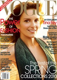 Tina Fey Vogue