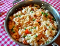 Tonight's Dinner: Chicken and shrimp paella recipe