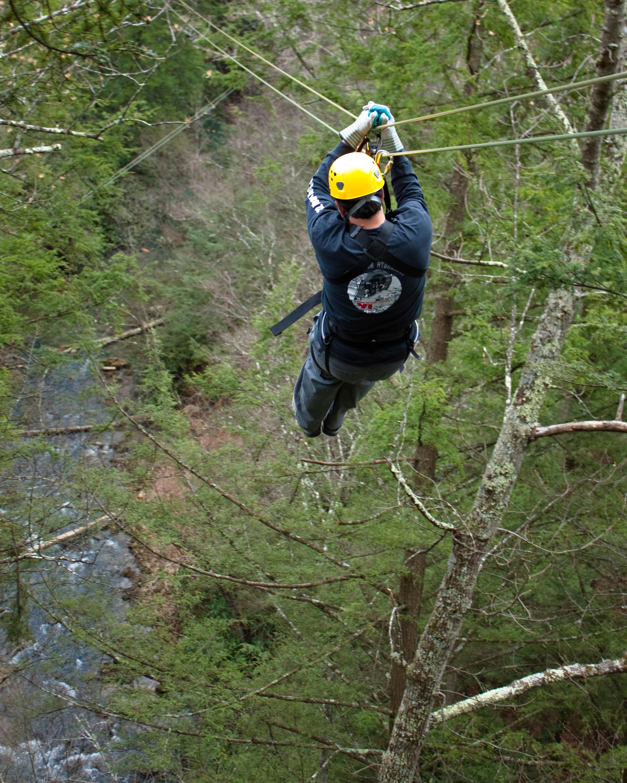 Ziplining for all!