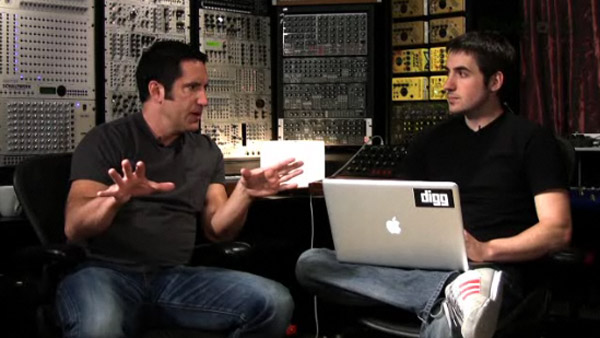 Trent Reznor video interview - Digg