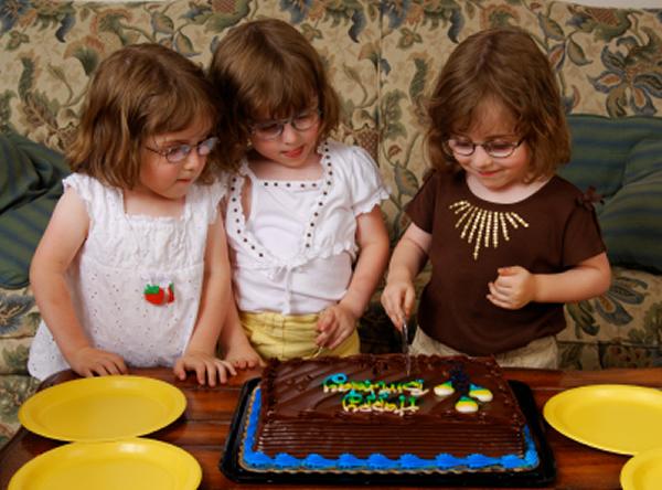 Birthday celebrations times two