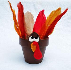 Turkey treat pot craft