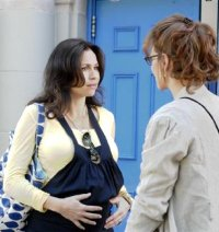 Minnie Driver and Uma Thurman in Motherhood
