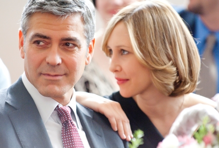 Up in the Air stars George Clooney and Vera Farmiga