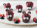 Make adorable love bugs for a healthier Valentine's Day snack