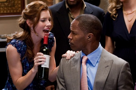 Jessica Biel and Jamie Foxx in Valentine's Day, out February 12