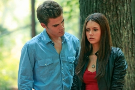 Stefan explains to Elena the Salvatore past