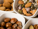 Eat nuts for healthy skin