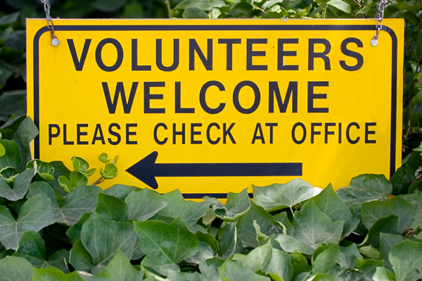 Volunteers Welcome