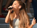 Yanis Marshall struts all over Ariana Grande's