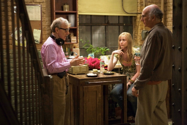 Woody Allen directs Evan Rachel Wood and Larry David in Whatever Works