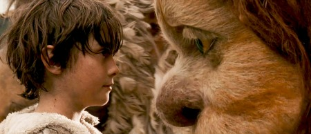 Max and KW in Where the Wild Things Are