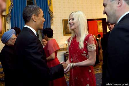 The White House crashers meet President Obama