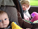 Car seat company says to keep kids rear-facing until age 2
