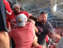 What is it about football that makes people want to punch others in the face?