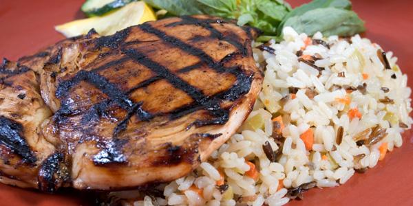 Wild Rice and Chicken